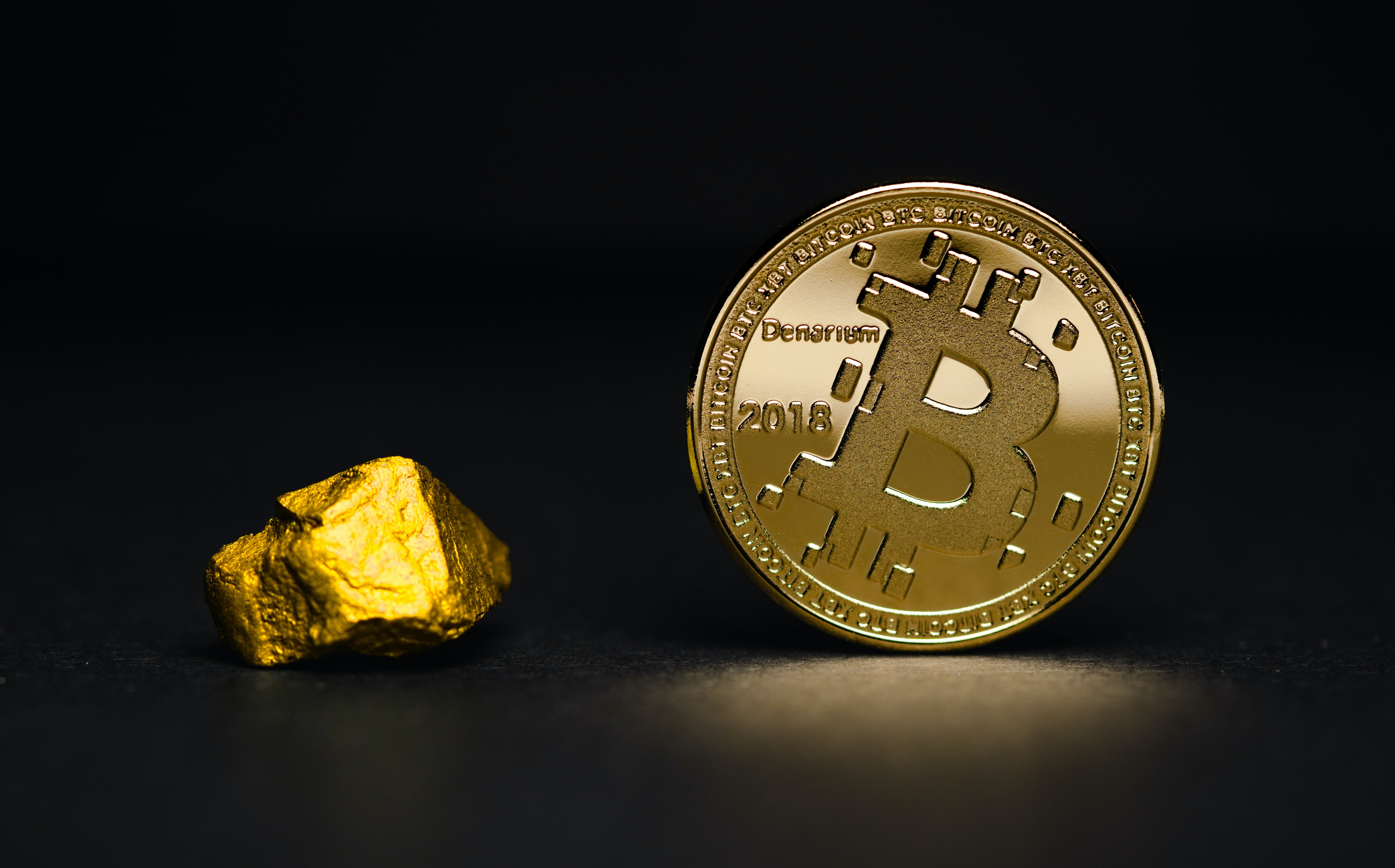 Is Bitcoin finally more credible than Gold now