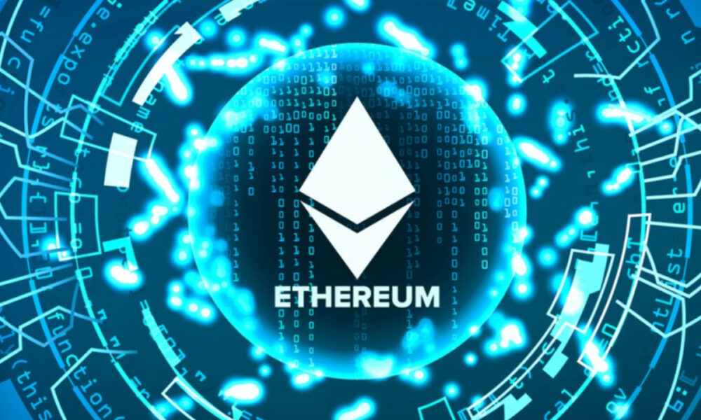 ethereum abstract technology background vector 17835030 1
