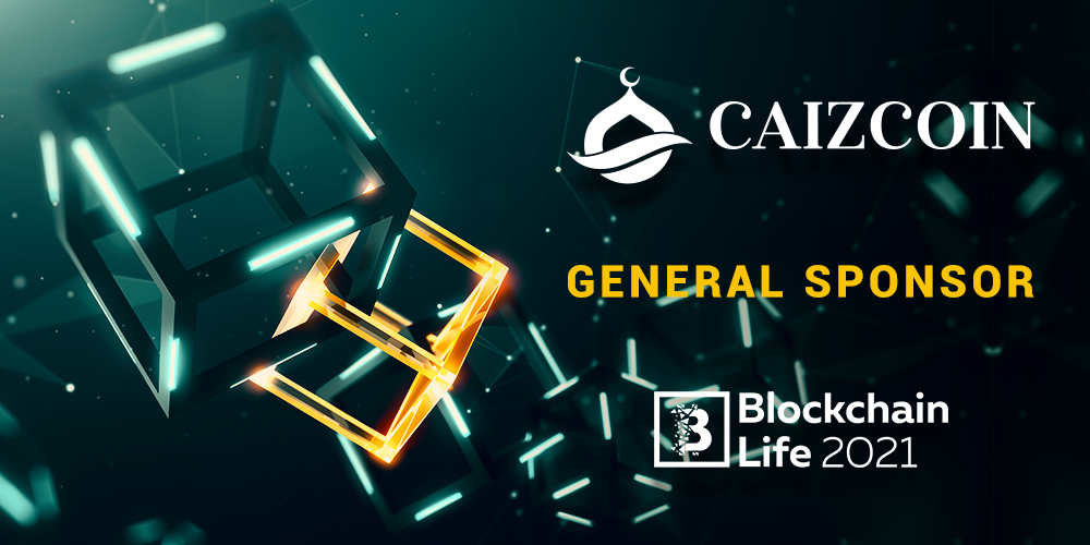Caizcoin is the general sponsor of Blockchain Life 2021